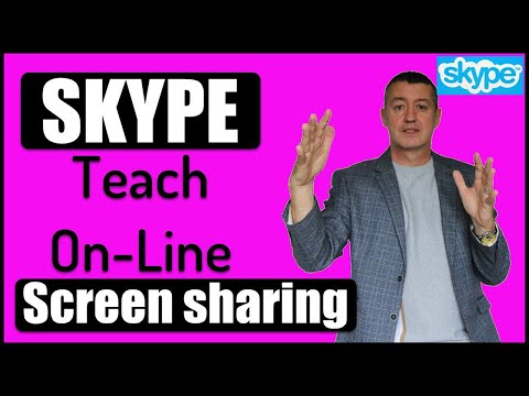 Teaching Online With SKYPE- How To Screenshare #teachonline #TeachOnlineSKYPE
