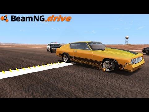 BeamNG.drive - SPIKE STRIPS