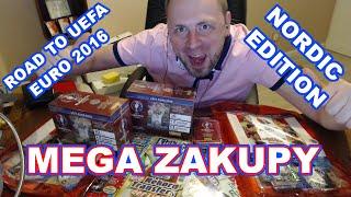 MEGA ZAKUPY ☆ NORDIC EDITION ☆  ROAD TO EURO 2016 ☆ STARTERY GIFTBOXY PUSZKI ☆