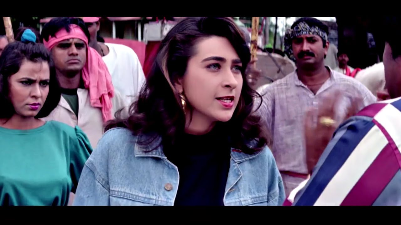करिश्मा कपूर की गुंडागर्दी - राजा बाबू - Karisma Kapoor Raja Babu Best Scene