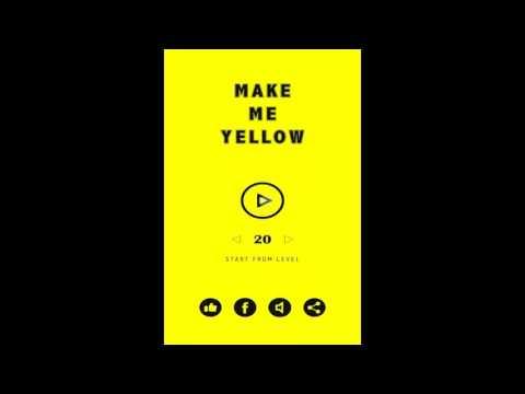 Make me yellow (By HapMonkey) Level 1-30 Walkthrough (All Levels Guide)