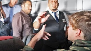 DON'T FIGHT WITH FLIGHT ATTENDANTS & PASSENGERS! (RAW FOOTAGE)
