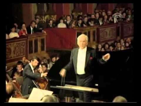 Brahms, Piano Concert Nr  2 B Dur op  83   Krystian Zimerman Piano, Leonard Bernstein, Wiene