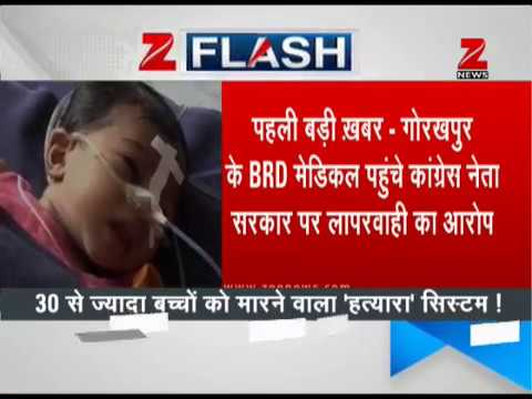 Who is liable for death of 33 children in Gorakhpur's BRD hospital?