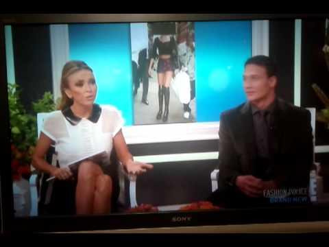 "Ryan Lochte on Joan Rivers' ""Fashion Police"" part 2"