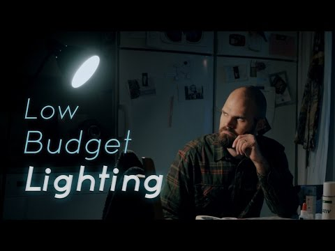 Low Budget Lighting For Film