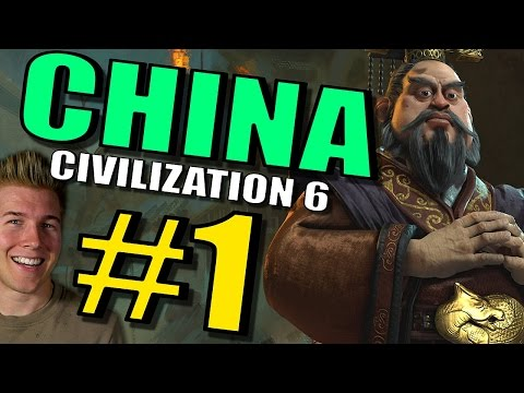 Civilization 6 :China Gameplay - Part 1 [Civ 6 Let's Play] L