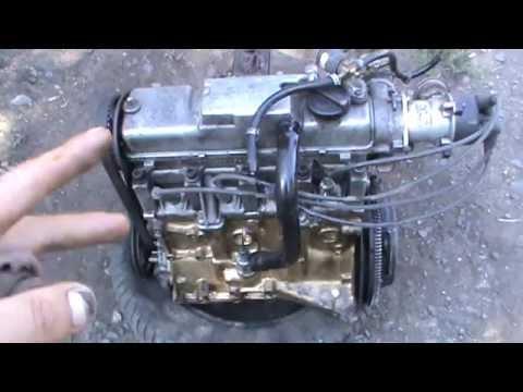 Начало ремонта двигателя ВАЗ 21083