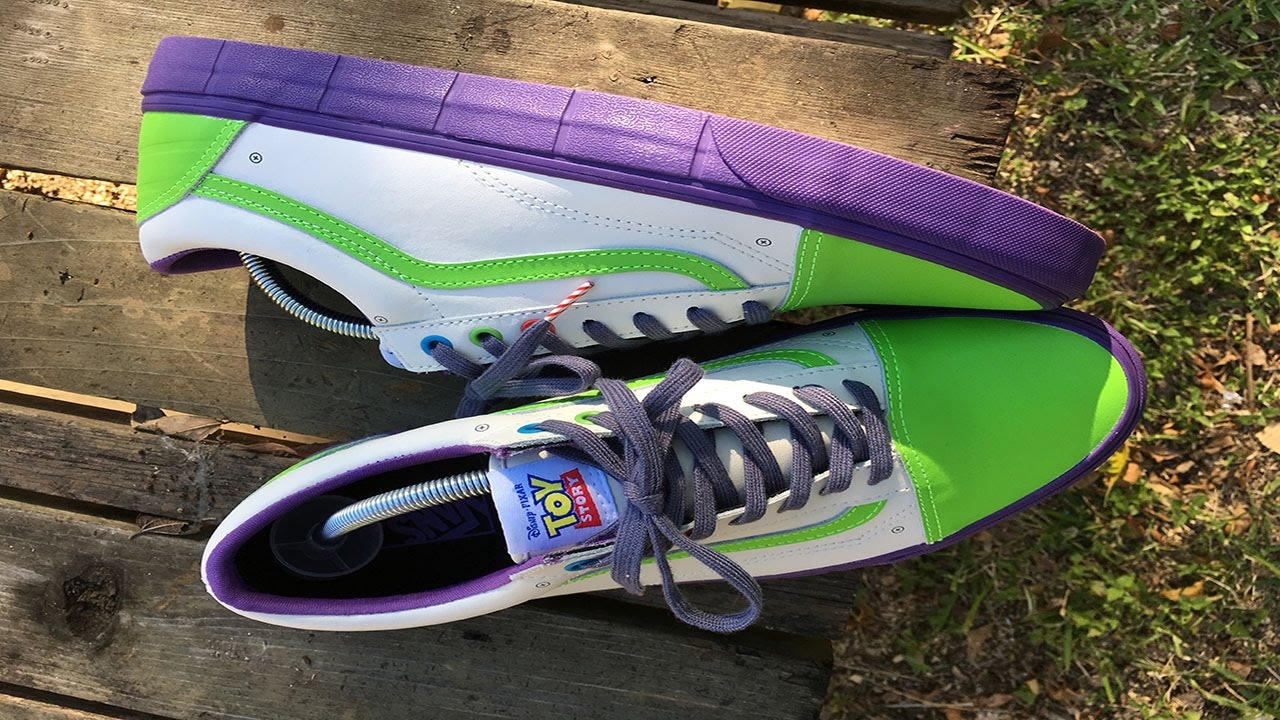Vans X Toy Story Buzz Lightyear Old Skool Review On Foot Youtube