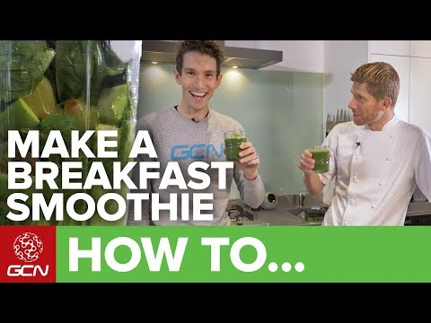 How To Make A Power Breakfast Smoothie With Hayden Groves