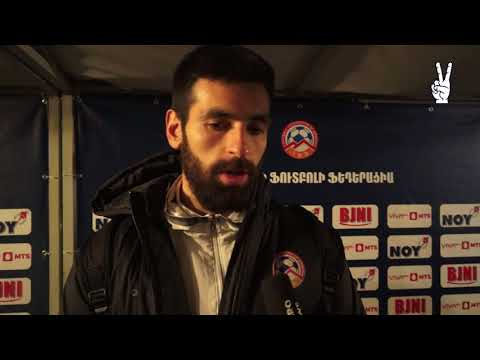 Arsen Beglaryan post-match commentaries || Armenia 4-1 Belarus || 09.11.17
