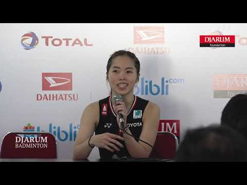 [ Press Conference ] Ratchanok Intanon (Thailand)