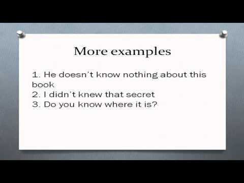 формы глагола Know. Первая вторая третья форма