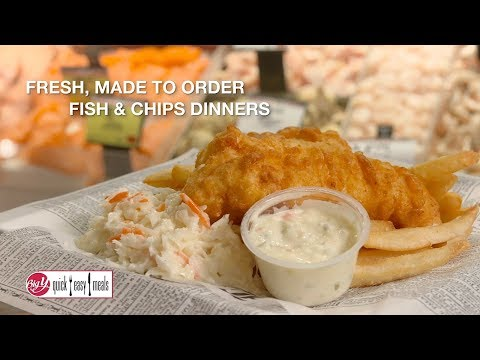 Big Y Fish & Chips - Made With Haddock!