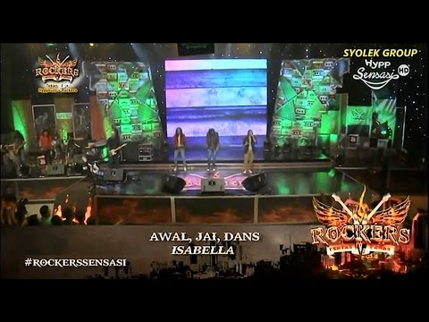 Rockers Konsert 11 : Awal, Dans, Jai (Brotherhood Rockers) - Isabella (Search)
