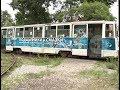 Пенсионерка не удержалась на ногах в хабаровском трамвае и упала.