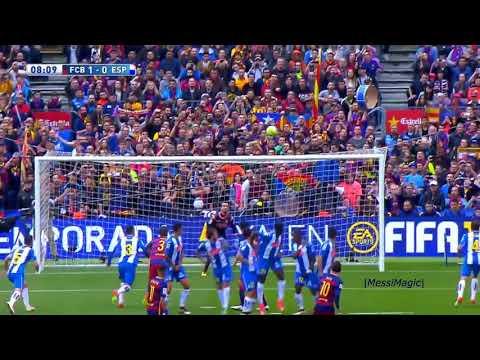 Lionel Messi ● Top 20 Coup Franc