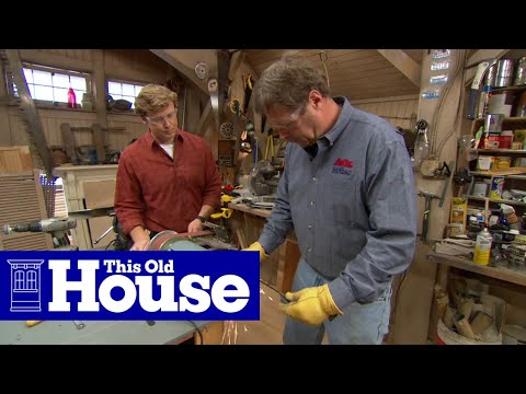 How to Sharpen a Lawn Mower Blade - This Old House