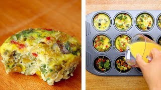 Healthy Breakfast Egg Muffins, Muffin Tin Eggs