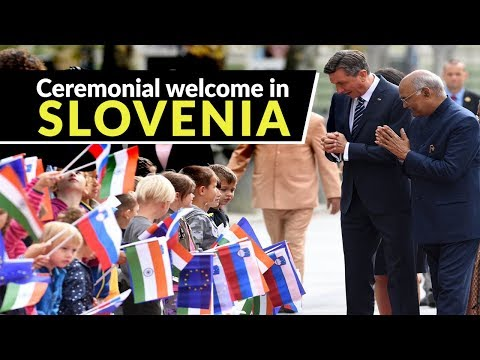 Ceremonial Welcome Of President Kovind In Slovenia