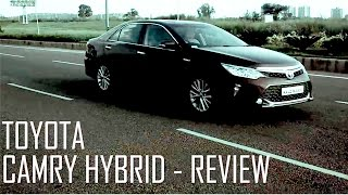 Toyota Camry Hybrid India Test Drive Review