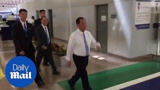 Senior North Korean official Kim Yong Chol arrives in Beijing