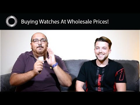 Buying Watches At Wholesale Watch Shows - Federico Buys A Surprise !