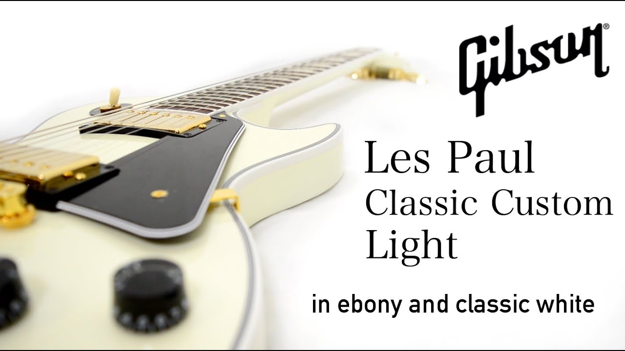 Gibson Les Paul Classic Custom Light Youtube 1958 Wiring Diagram