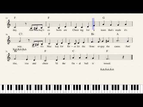 Mackay Miner School Song   with Chords