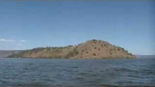 Bare Island at Upper Klamath Lake