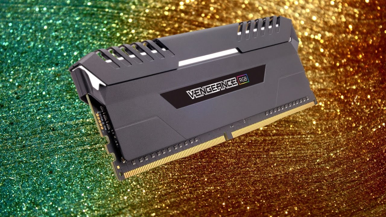 Unboxing Corsair Vengeance RGB 16GB (2x8GB) DDR4 DRAM 3200MHz C16 Memory Kit