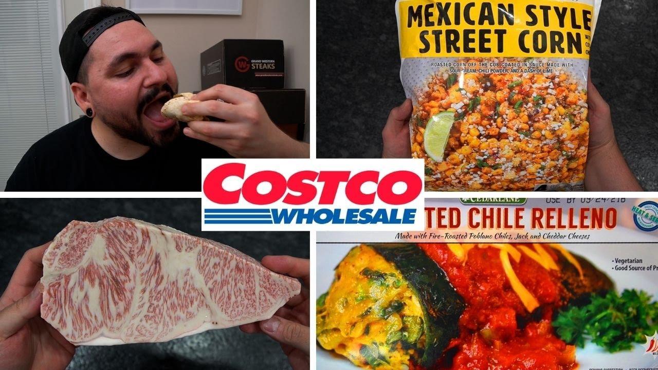 Desde Tamales hasta Wagyu | Probando la comida de Costco | La Capital