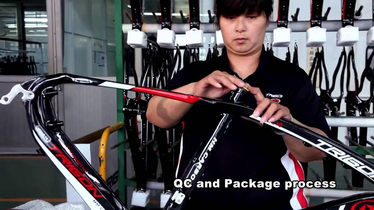 Trigon Carbon Bike Frame Carbon Bike Handlebar Carbon Bike