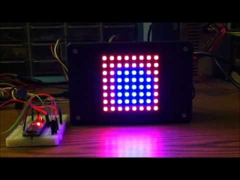 64 Pixel RGB LED Display - Another Arduino Clone: 12