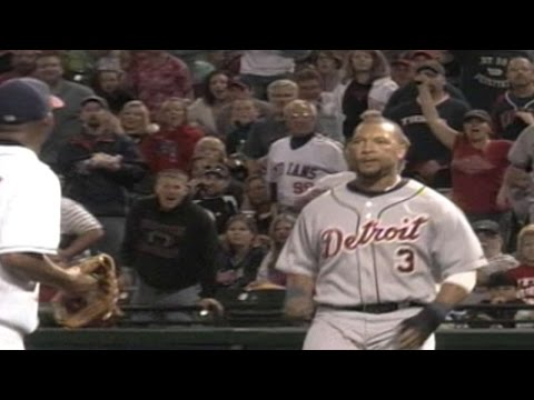Both benches clear in Cleveland
