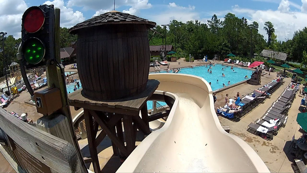 Disney S Fort Wilderness Meadow Swimming Pool Slide Pov