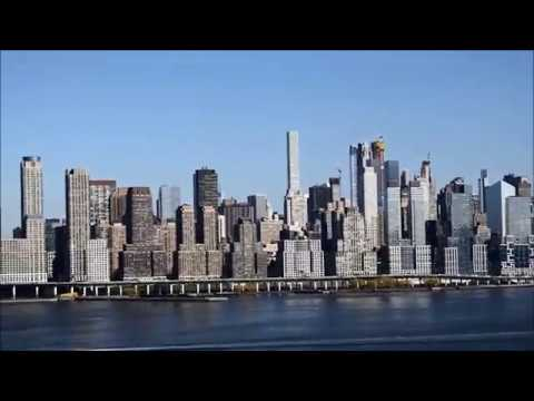 New York City Skyline from West New York New Jersey - April 2018