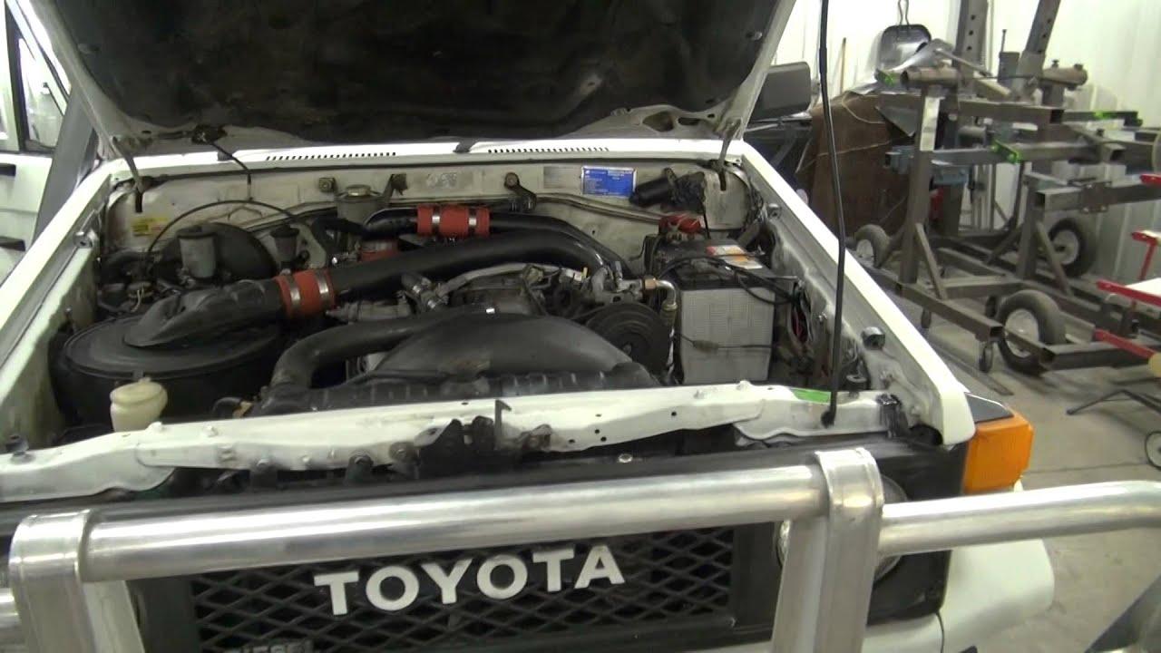 Toyota Landcruiser Diesel 60 70 80 series repair manual 1980-1998