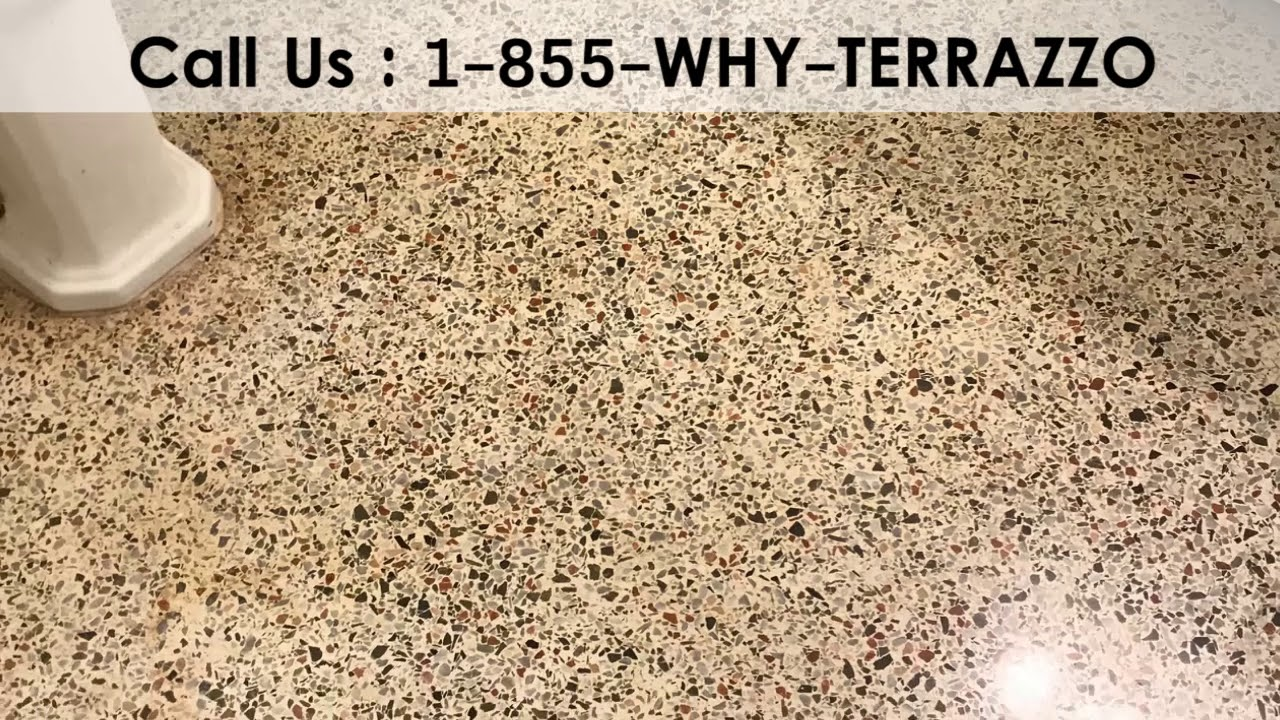 How To Polish Terrazzo Floors In Fort Lauderdale Youtube