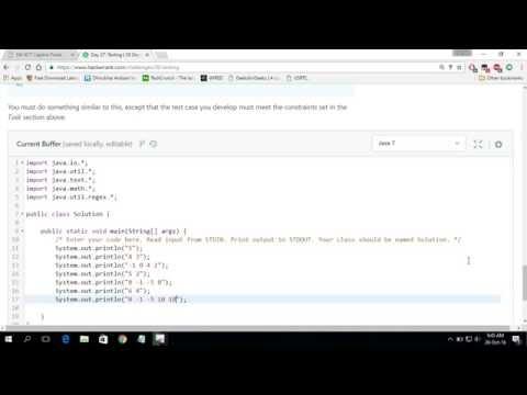 Hackerrank Test For Qa