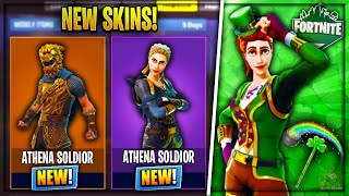 New SECRET Free Skins In FORTNITE! - v3.2.0 LEAKED Cosmetics & More! (Fortnite Battle Royale)