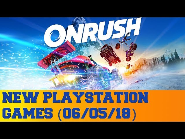 New PlayStation Games for June 5th 2018