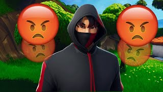 Salty Fortnite Kids React To IKONIK Skin & Scenario Emote