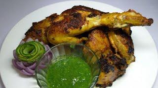 Tandoori Chicken Without Oven | Restaurant style | Roasted Chicken tandoor | Chicken Recipe