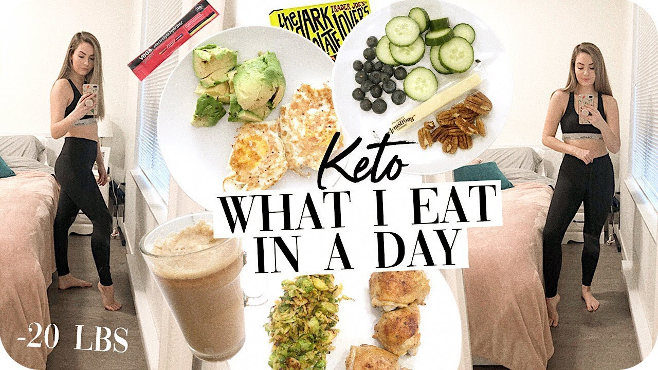 typical day on the keto diet