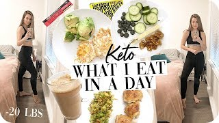Keto What I Eat in a Day