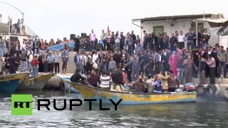 State of Palestine: Sea protest staged over Israeli blockade
