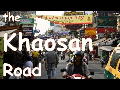 The KHAOSAN ROAD  Bangkok Thailand กรุงเทพมหานคร Lustig & Gute Laune DOK