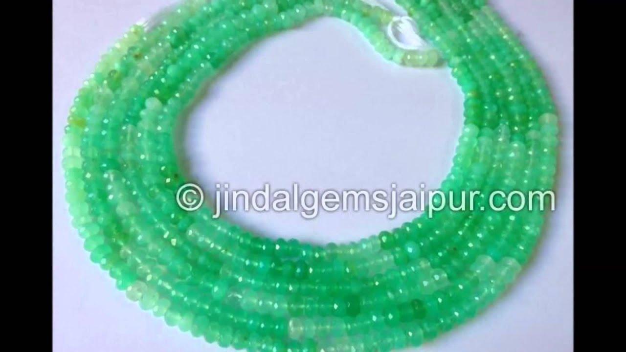 Virant Green Opal Gemstone Beads Wholesale Manufacturer