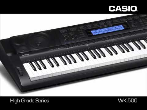 Casio Standard series keyboards CTK 3000 CTK 4000 CTK 5000 WK 500 - www.skala.rs